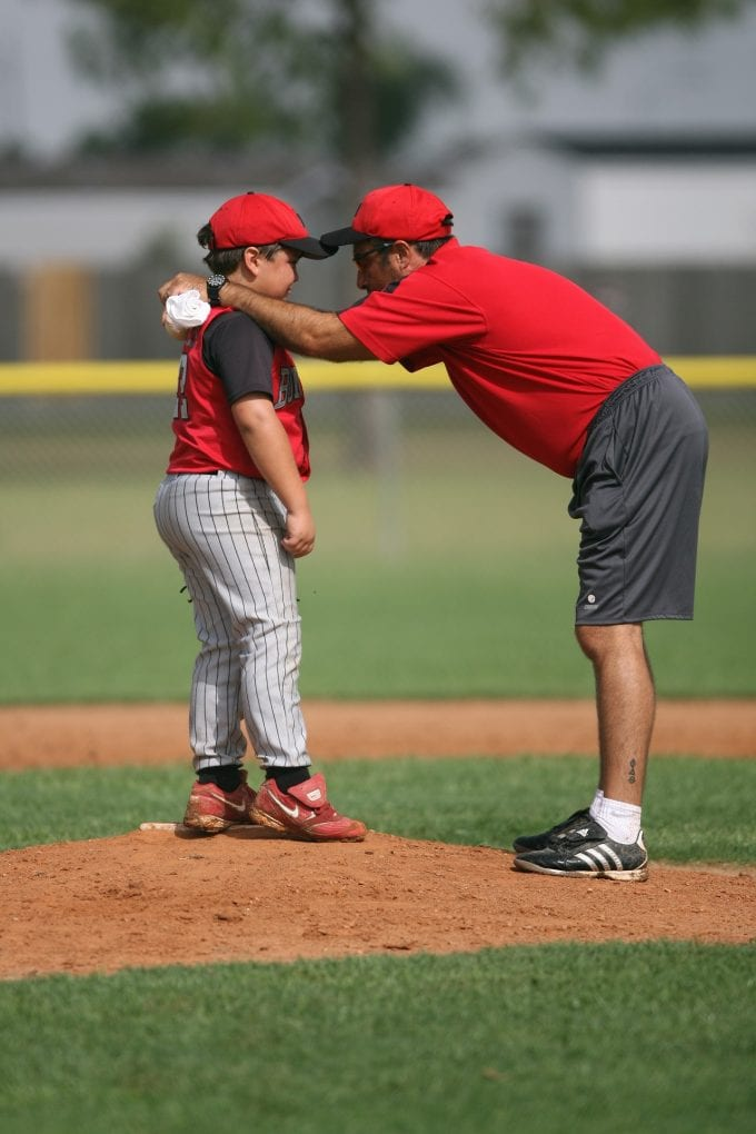 Psychology of Coaching Your Own Child