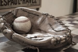 Homemade baseball training equipment