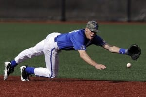 baseball ground ball fielding