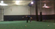 sidearm throwing drill to practice