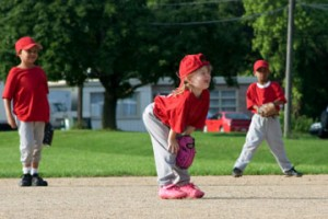 T ball base running drill