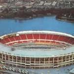 Riverfront stadium