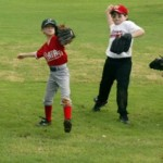 baseball infeild drills kids