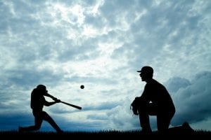 Online baseball hitting training